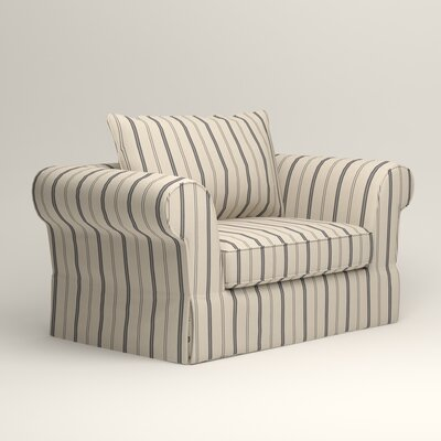 Owen Chair Upholstery: Mcallister Indigo