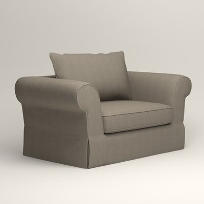 Owen Armchair Upholstery: Hilo Seagull