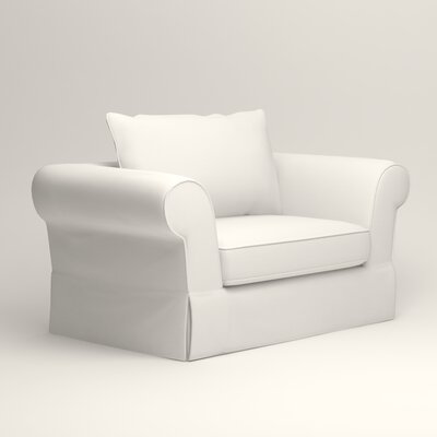 Owen Armchair Upholstery: Classic Bleach White