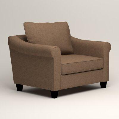 Brooke Armchair Upholstery: Lizzy Hemp
