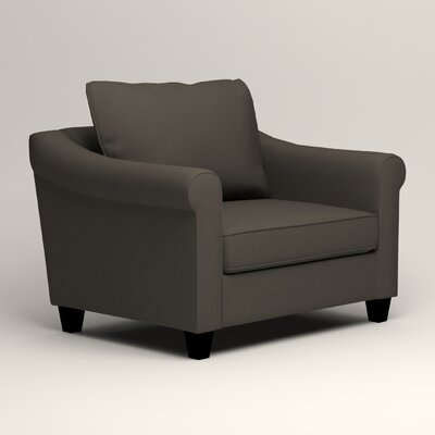 Brooke Armchair Upholstery: Tibby Pewter