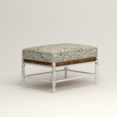 Stephanie Ottoman Upholstery: Nadia Moonstone