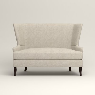 Elliot Settee Upholstery: Ronan Linen