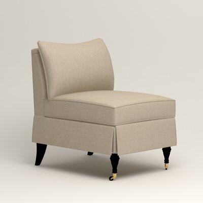 Kendall Slipper Chair Upholstery: Denton Beige