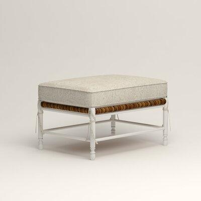 Stephanie Ottoman Upholstery: Ronan Linen