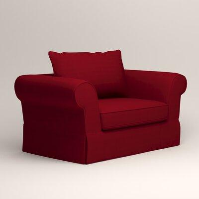 Owen Armchair Upholstery: Bayou Flame