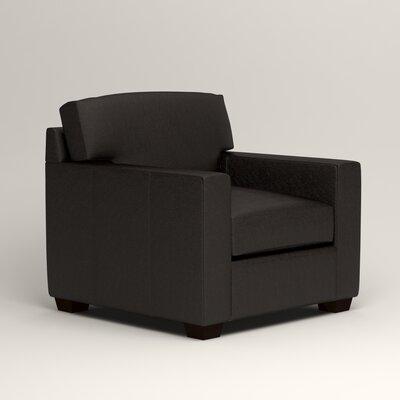 Pratt Leather Chair Upholstery: Java Leather