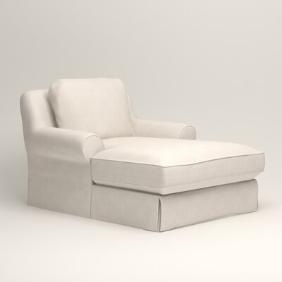 Owen Chaise Upholstery: Bevin Natural