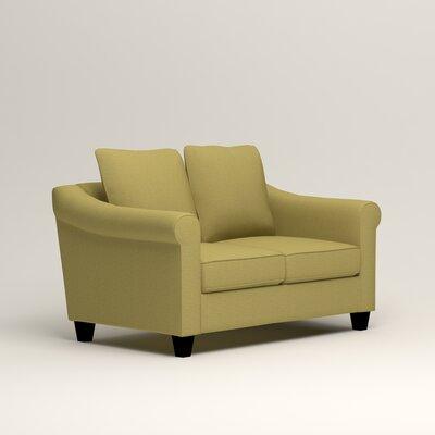Brooke Loveseat Upholstery: Lizzy Kiwi