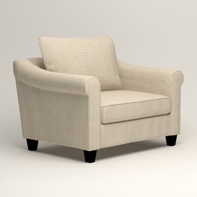 Brooke Armchair Upholstery: Godiva Putty