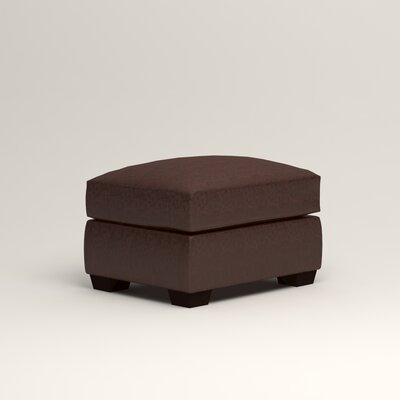 Pratt Leather Ottoman Upholstery: Mahogany Leather