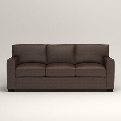 Pratt Leather Sofa Upholstery: Steamboat Driftwood