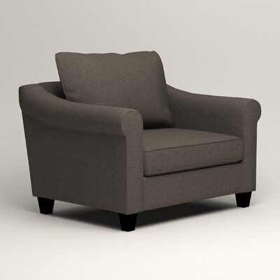 Brooke Armchair Upholstery: Lizzy Graphite