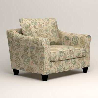 Brooke Armchair Upholstery: Okeefe Seabreeze