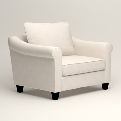 Brooke Armchair Upholstery: Bevin Natural