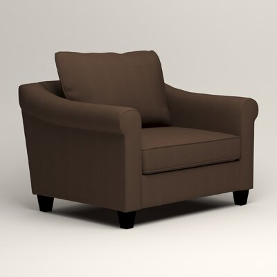 Brooke Armchair Upholstery: Bayou Coffee