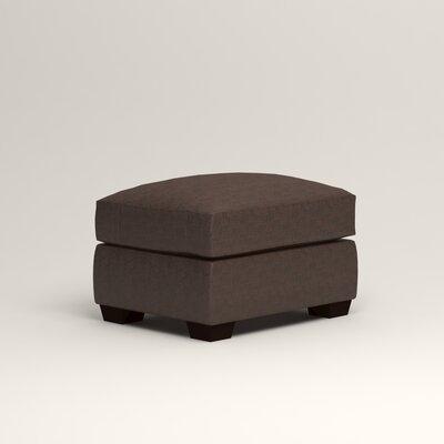 Pratt Leather Ottoman Upholstery: Steamboat Driftwood