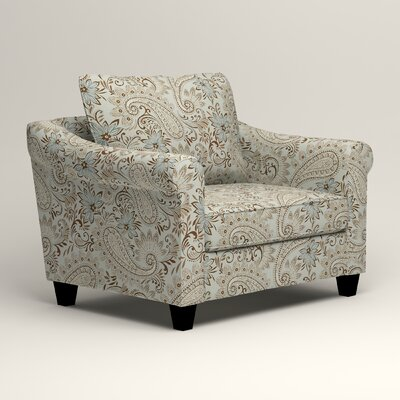 Brooke Armchair Upholstery: Nadia Moonstone