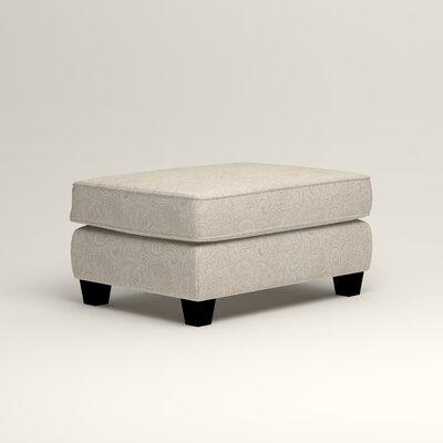 Brooke Ottoman Upholstery: Ronan Linen