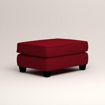 Brooke Ottoman Upholstery: Bayou Flame
