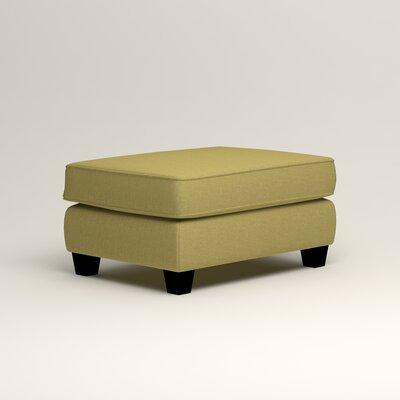 Brooke Ottoman Upholstery: Lizzy Kiwi
