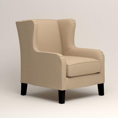 Easton Wingback Chair Upholstery: Bayou Stone