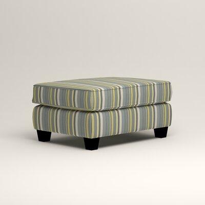 Brooke Ottoman Upholstery: Dunagen Ocean