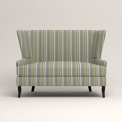 Elliot Settee Upholstery: Dunagen Ocean