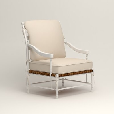 Stephanie Arm Chair Color: Tillery Vanilla