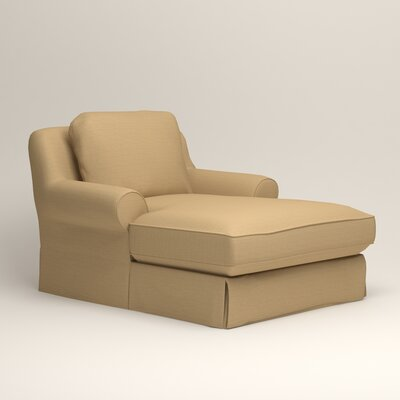 Owen Chaise Upholstery: Bailey Barley Blended Linen