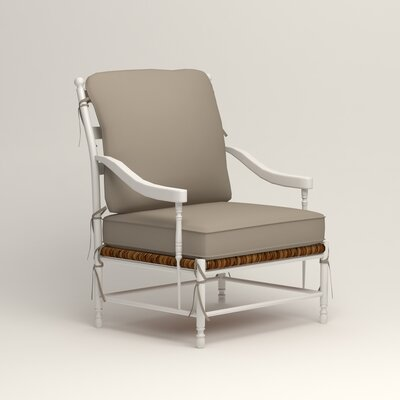 Stephanie Arm Chair Color: Jemma Silver Mist