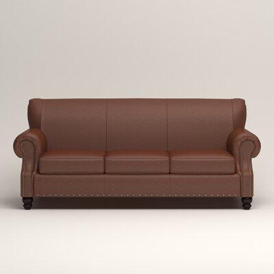 Landry Leather Sofa Upholstery: Melton Leather