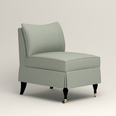 Kendall Slipper Chair Upholstery: Bayou Spray