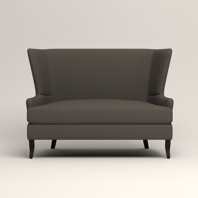 Elliot Settee Upholstery: Lizzy Graphite