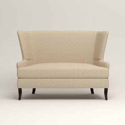 Elliot Settee Upholstery: Hilo Flax