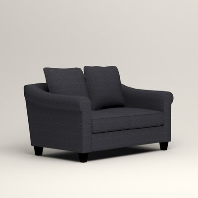 Brooke Loveseat Upholstery: Laney Navy