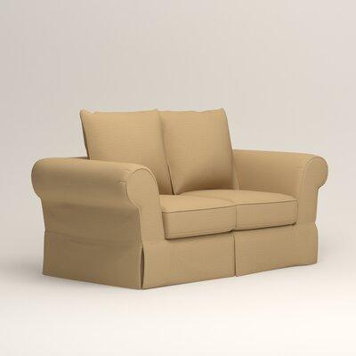 Owen Loveseat Upholstery: Bailey Barley Blended Linen