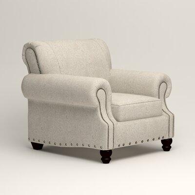 Landry Armchair Upholstery: Ronan Linen