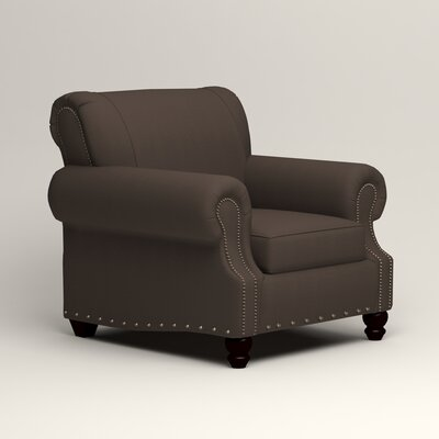 Landry Chair Upholstery: Microsuede Charcoal