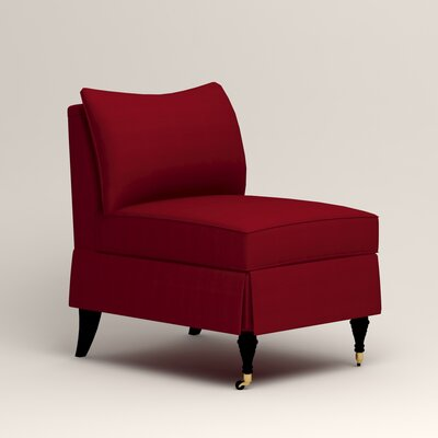 Kendall Slipper Chair Color: Tillery Crimson
