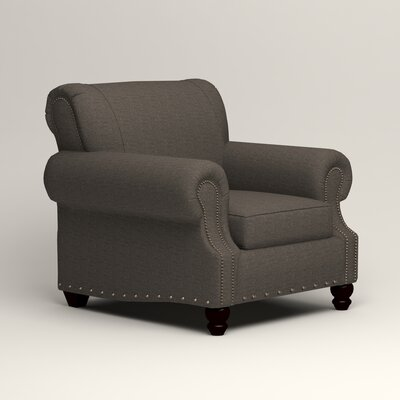 Landry Armchair Upholstery: Lizzy Graphite
