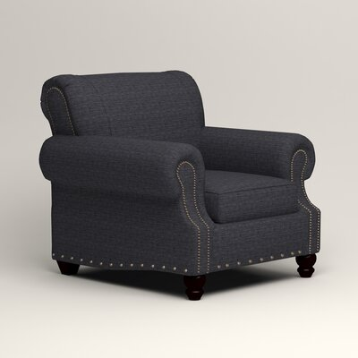 Landry Armchair Upholstery: Laney Navy