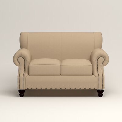 Landry Loveseat Upholstery: Bayou Stone