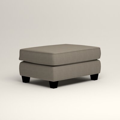 Brooke Ottoman Upholstery: Hilo Seagull