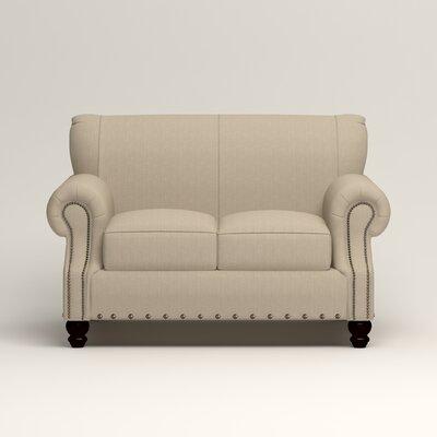 Landry Loveseat Upholstery: Denton Beige