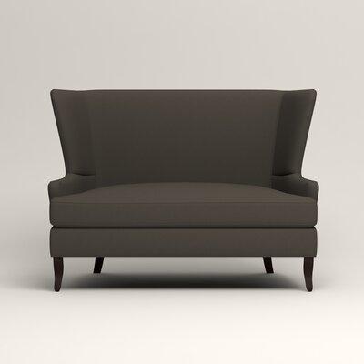 Elliot Settee Upholstery: Tibby Pewter