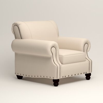 Landry Chair Upholstery: Microsuede Oyster