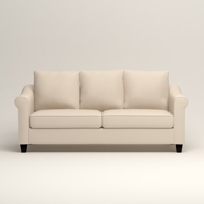 Brooke Sofa Upholstery: Microsuede Oyster