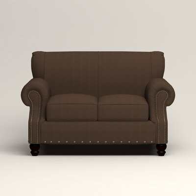 Landry Loveseat Upholstery: Bayou Coffee
