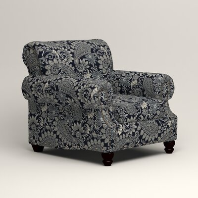Landry Chair Upholstery: Nadia Denim